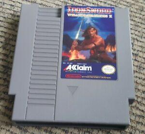 IronSword-Wizards-amp-Warriors-II-Nintendo-Entertainment-System-1989-Cartridge