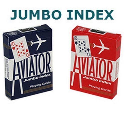 12 decks AVIATOR playing card #917 Jumbo poker