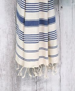 Bath Beach Towel Palm Cove Blue 100 Turkish Cotton Baby Sling