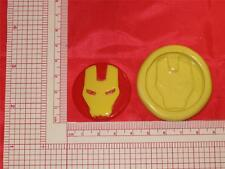 Iron Man 2D Silicone Mold #707 Cake Supplies Craft Soap Chocolate Resin Clay