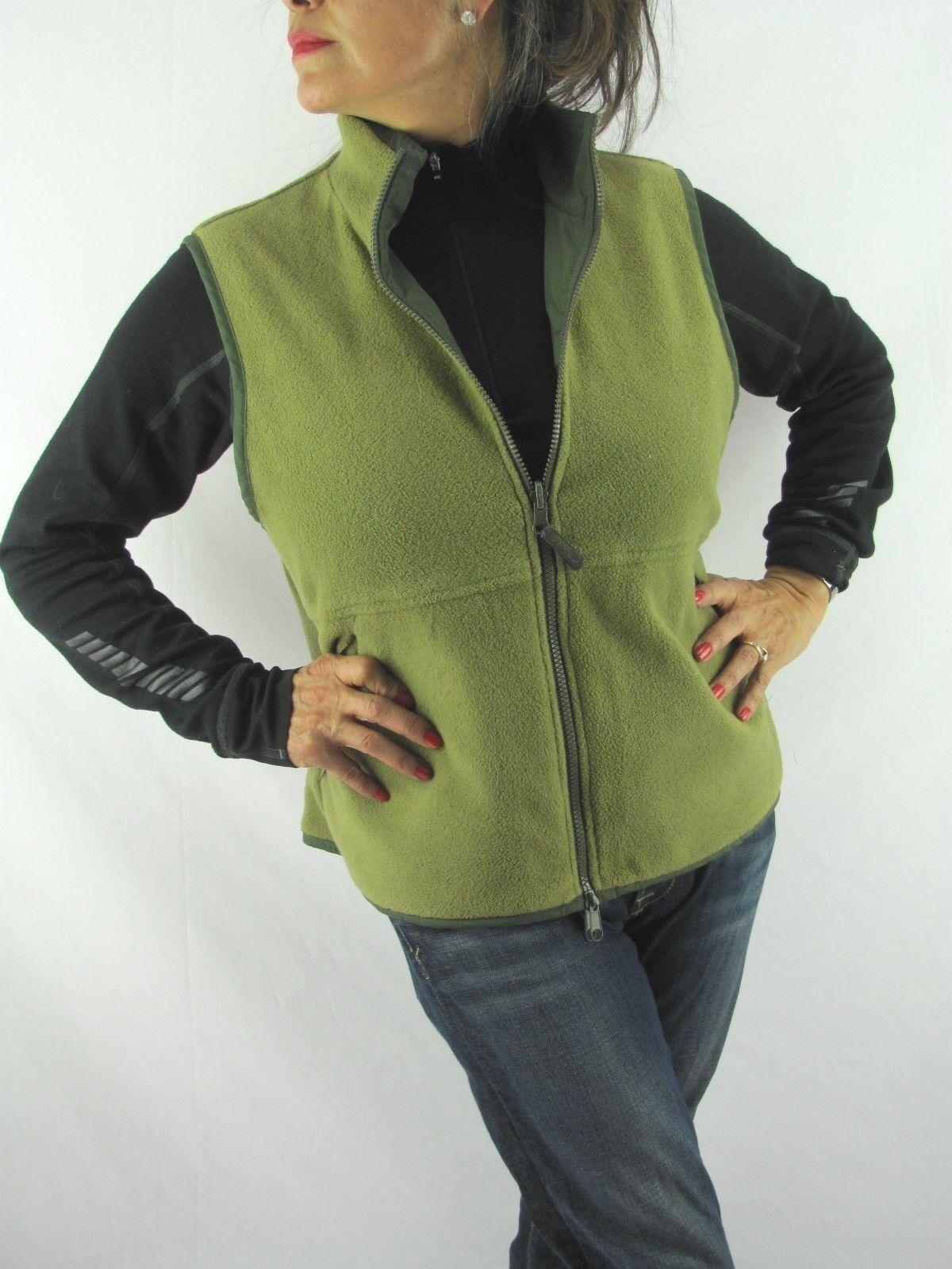 Catalina VTG Olive Green Smooth n Tan Fleece Reve… - image 2
