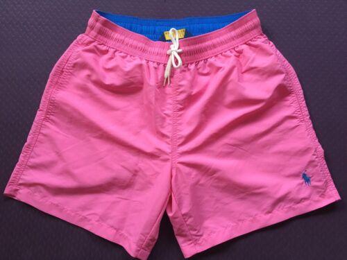 POLO Ralph Lauren Swim Shorts Traveler Bagagliaio Chroma Rosa Taglia S M