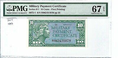 MPC Series 681  5 cents PMG 67EPQ SUPERB GEM UNC