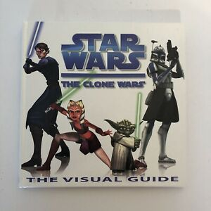 Star-Wars-The-Clone-Wars-The-Visual-Guide-by-DK-Publishing-Used