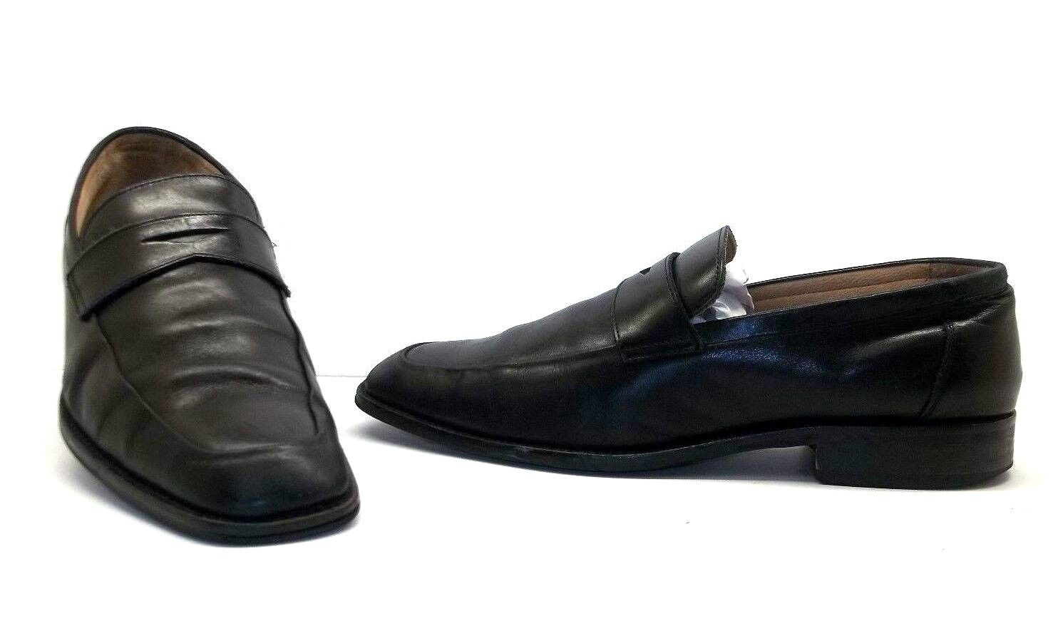 Johnston & Murphy Men's Knowland Penny Loafer Casual Dress shoes Black Size 11 M