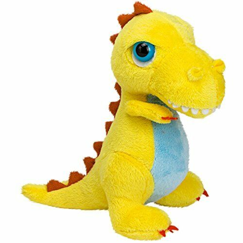 Suki Gifts International T-Rex Dinoz Soft Dinosaur Plush Toy Small Yellow