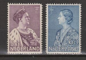 NVPH-Netherlands-Nederland-265-266-PF-MNH-1934-Crisiszegels-Pays-Bas