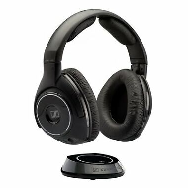 Sennheiser RS160 Over-Ear Digital RF Wireless Headphones