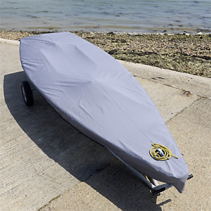 125G Grey Tailored Laser Dinghy Sail Boat Deck Cover