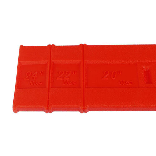 10/'/' To 24/'/' Chainsaw Bar Cover Scabbard Protector Durable Guide Plate Sets  J7