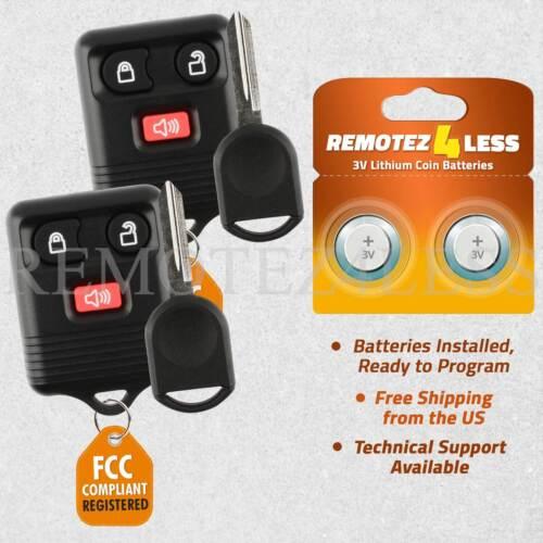 2 Remote for 2001 2002 2003 2004 2005 2006 2007 2008 Ford Explorer Car Key
