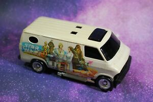 VINTAGE-STAR-WARS-WHITE-VAN-VEHICLE-KENNER-WEAR