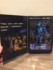 "7"" PREDATOR figure 8-BIT 1989 CLASSIC nes box VIDEO GAME APPEARANCE blue NECA"