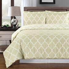 Ultra Soft Printed Bedding, Meridian 100% Egyptian Cotton Duvet Cover Set