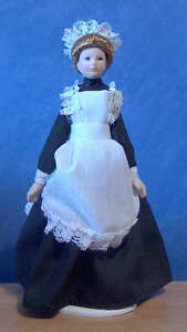 1-12-Dolls-House-Miniature-Porcelain-Maid-Servant-Doll-Kitchen-bedroom-BN-LGW
