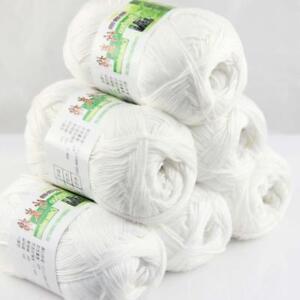 AIP-Sale-6-Skeinsx50g-Soft-Bamboo-Cotton-Baby-Wrap-Hand-Knitting-Crochet-Yarn-01