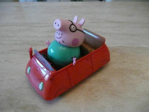 *** PEPPA PIG DADDY PIG CAR /& figurine *** MUMMY GEORGE