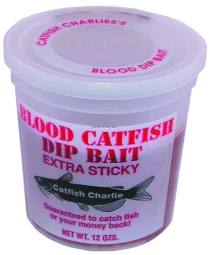 NEW Blood Scented Catfish BD-12-12 Dip Bait