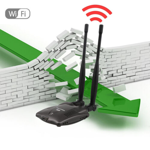 3000mW High Power N9100 Wireless USB Wifi Adapter For Ralink 3070 Chipset  ZZ
