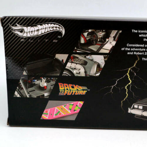 Hot Wheels 1:18 Elite Back To The Future Time Machine Diecast Edition BCJ97