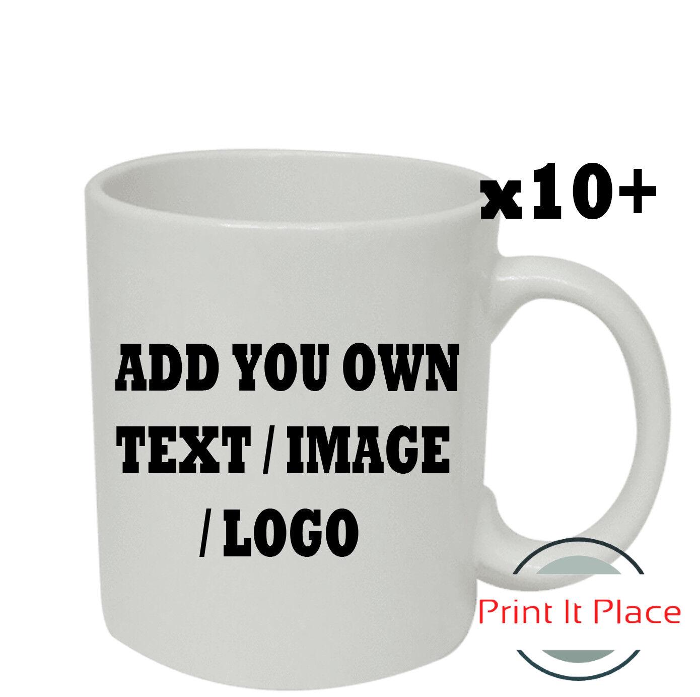 Personalised Mug Custom Photo Logo Cup Gift Box Image Text Promotional Bulk
