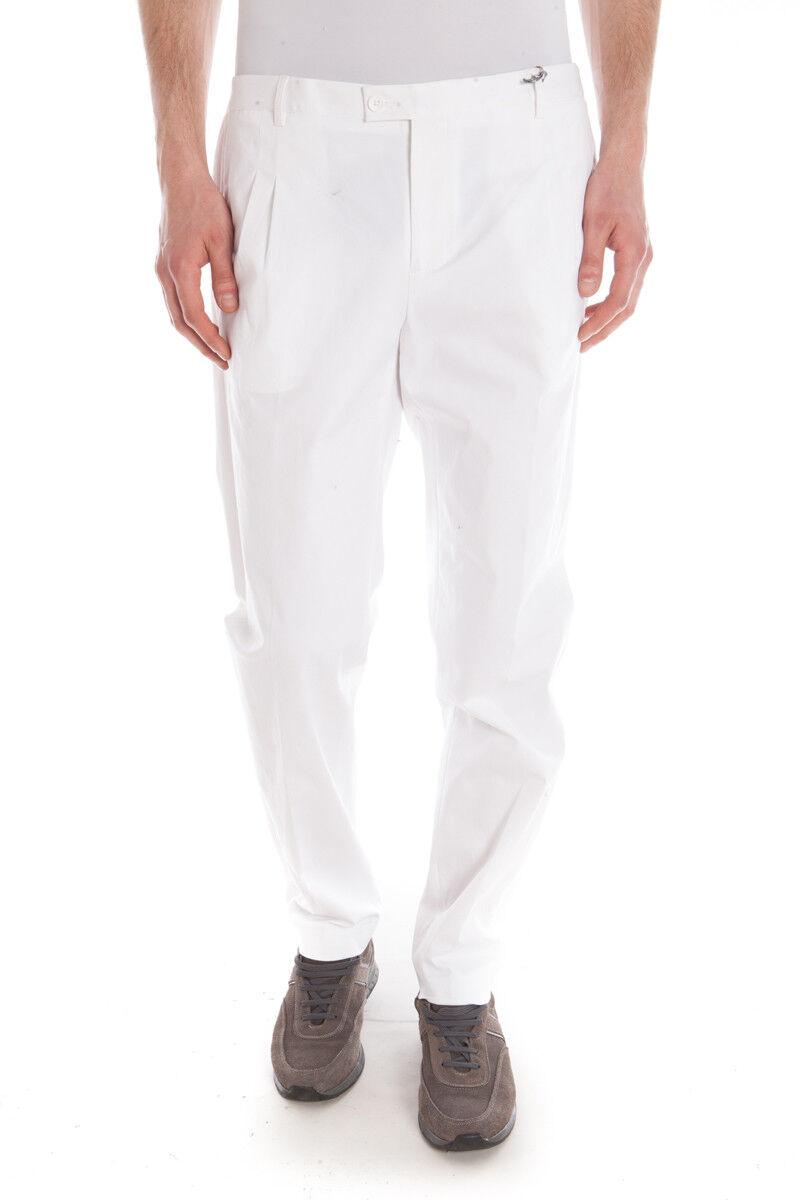 Pantaloni Daniele Alessandrini Jeans Trouser men Bianco P3076N6523500 2