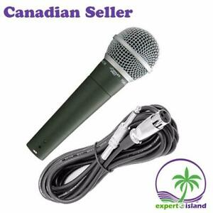 PYLEPRO PDMIC58 Great Sounding Moving Coil Microphone, Dynamic Handheld Mic with 15 ft. XLR Cable Canada Preview