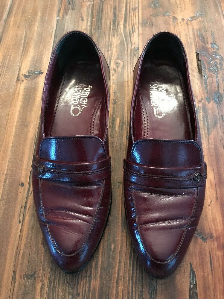 Gentleman/Lady French Shriner Clearance Loafer Burgundy 8.5 M Clearance Shriner price auction Highly appreciated and widely trusted in and out 51ff60