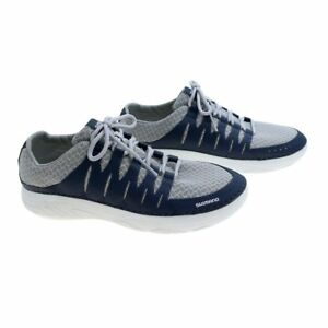 SHIMANO-EVAIR-BOAT-SHOES-FISHING-SHOES-COLOR-NAVY-GRAY-SELECT-SIZE