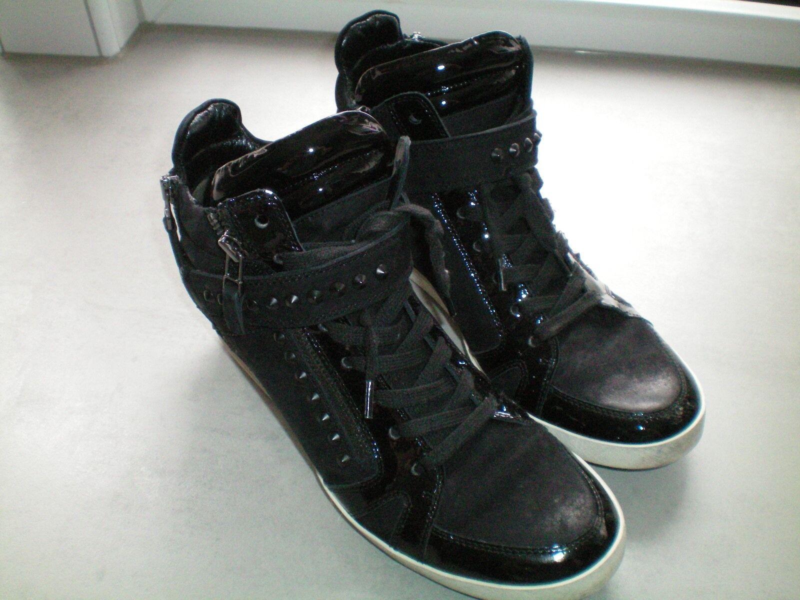 Kennel TOP und Schmenger, hohe Sneaker, TOP Kennel Gr. 7,5 / 41 schwarz 77ac22