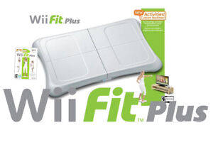 Nintendo Wii Fit Balance Board Bundle With Wii Fit Plus Game, Tested & Working!.