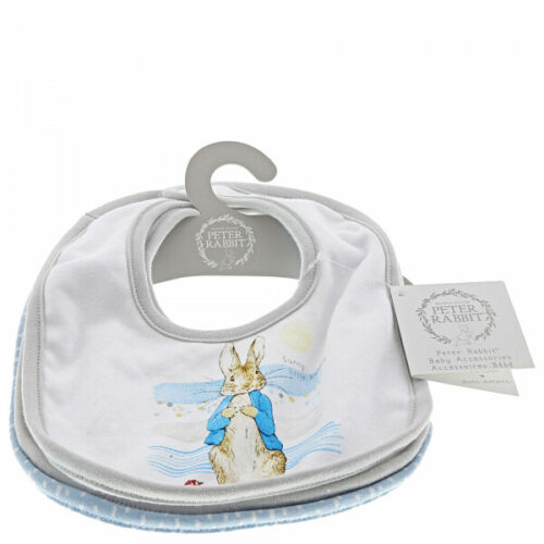 Beatrix Potter-Peter Rabbit Baby Collection Lot de 3 bavoirs