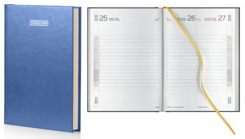 InTempo Agenda 2020 Giornaliera 15X21cm Skivertex Papercoat Blu
