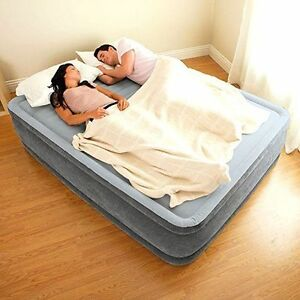Intex Inflatable Full Airbed Full Size Built In Electric
