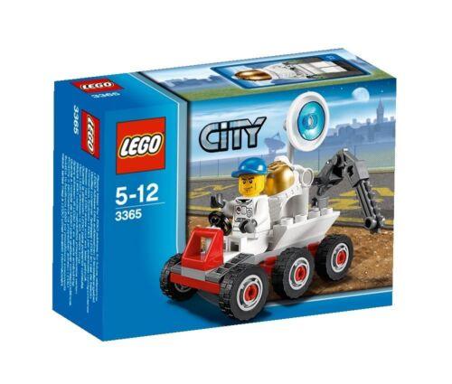 LEGO City Mond-Buggy (3365) Neu Sammlerstück selten