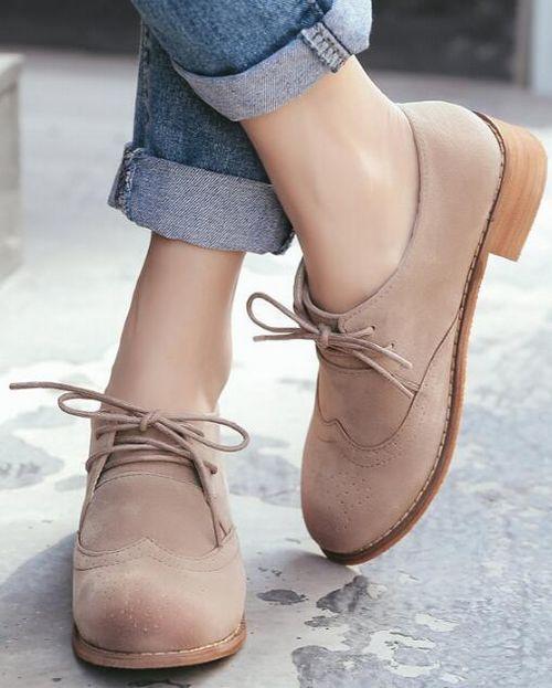 botas bajo  como Zapatos  bajo mujer beis elegantes como  piel 9228 bd0387