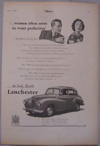 1951-Lanchester-Fourteen-Original-advert-No-3