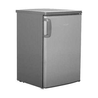 Exquisit KS 15-5 A+++ Kühlschrank Freistehend 54cm Edelstahl Neu