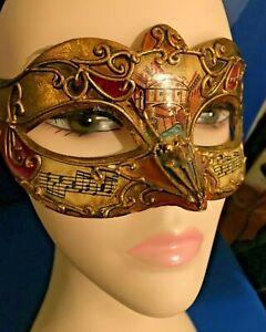 Venetian Masquerade Costume Ball Party Phantom Opera Fancy Half Black Eye Mask