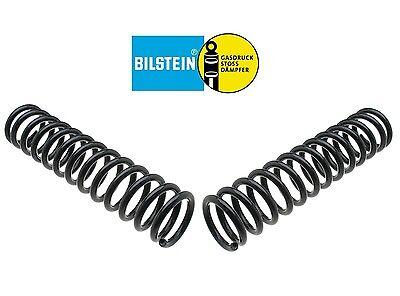 Pair Set of 2 Rear Bilstein B3 Coil Springs For Mercedes W123 230 Standard Susp