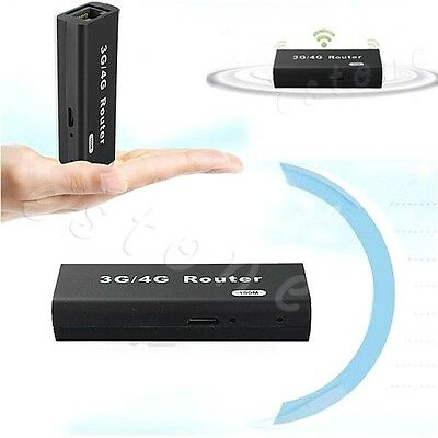 Wireless-N Mini Portable USB WiFi Router 3G/4G Hotspot 150Mbps Wlan LAN 802b/g/n