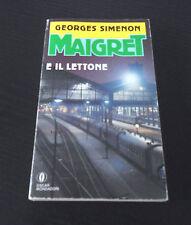 Maigret e il Lettone - Georges Simenon - Prima Edizione Oscar Gialli Mondadori -