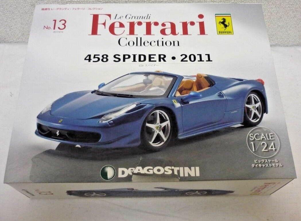 DeAGOSTINI 458 Spider 2011 1 24 scale Le Grandi Ferrari collection No.13 F S nouveau