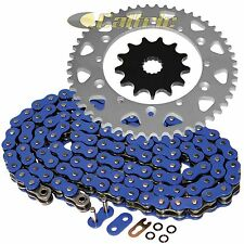 BLUE O-Ring Drive Chain & Sprockets Kit Fits YAMAHA YZ125 1987 1993 94 95 1996
