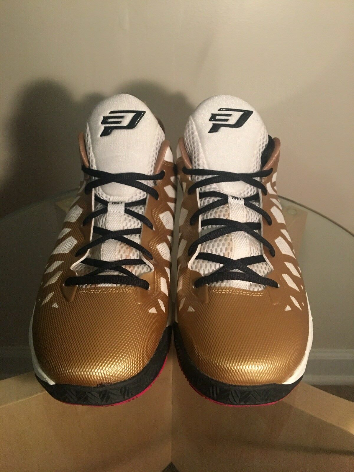 [535807-705] Mens Air Jordan CP3.VI Metallic gold Black
