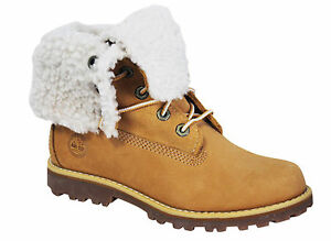 Fold 6 pelle Faux Youths Timberland in 2236b grano Down D122 inch Stivali Shearing di gEzwdqw