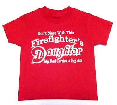 New Navy Blue amheroes original Junior Firefighter Rookie Kids T-Shirt