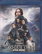 Rogue One: A Star Wars Story (Blu-ray/DVD, 2017, 3-Disc Set, Includes Digital Copy)