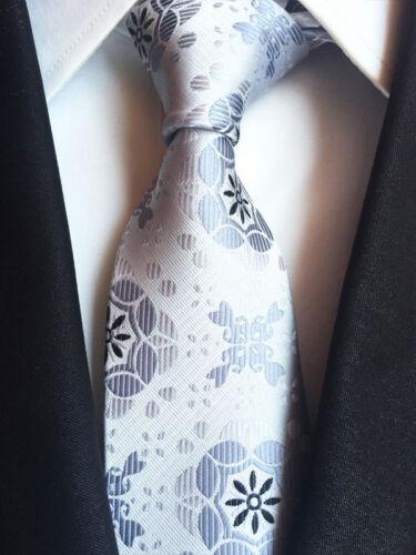 T116 NEW men silk ties /& handkerchief pocket square Tie set black gray patterns