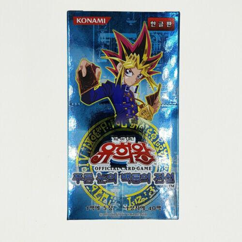 YUGIOH CARDS Legend of Blue Eyes White Dragon LOB-K Booster Box Korean Ver